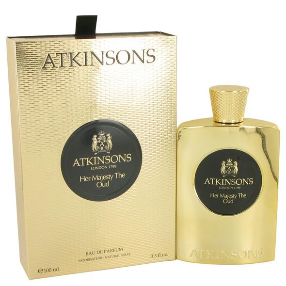 Her Majesty The Oud by Atkinsons Eau De Parfum Spray 3.3 oz for Women