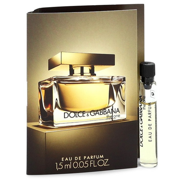 The One by Dolce & Gabbana Vial