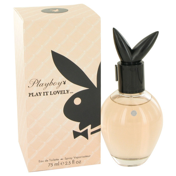 Playboy Play It Lovely by Playboy Eau De Toilette Spray 2.5 oz for Women