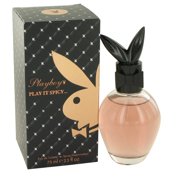 Playboy Play It Spicy by Playboy Eau De Toilette Spray 2.5 oz for Women