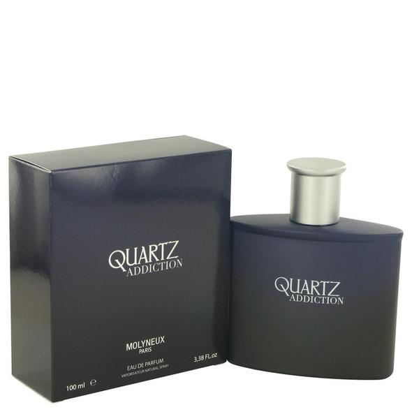 Quartz Addiction by Molyneux Eau De Parfum Spray 3.4 oz for Men