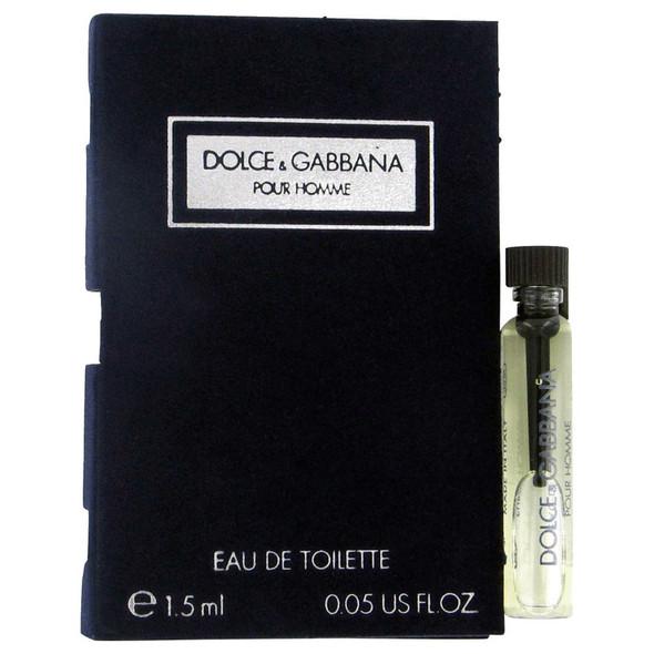 DOLCE & GABBANA by Dolce & Gabbana Vial (sample) .06 oz for Men