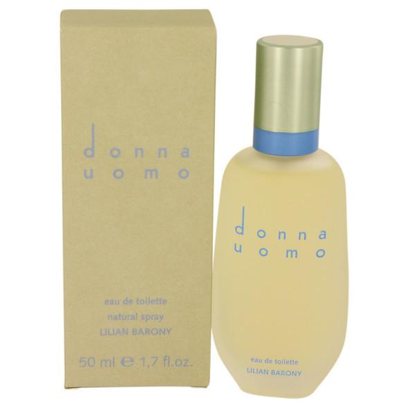 Donna Uomo by Lilian Barony Eau De Toilette Spray 1.7 oz for Men