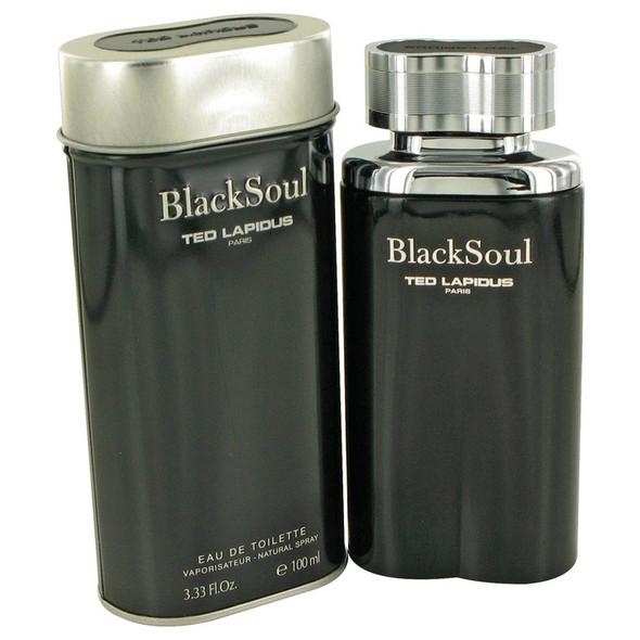 Black Soul by Ted Lapidus Eau De Toilette Spray for Men
