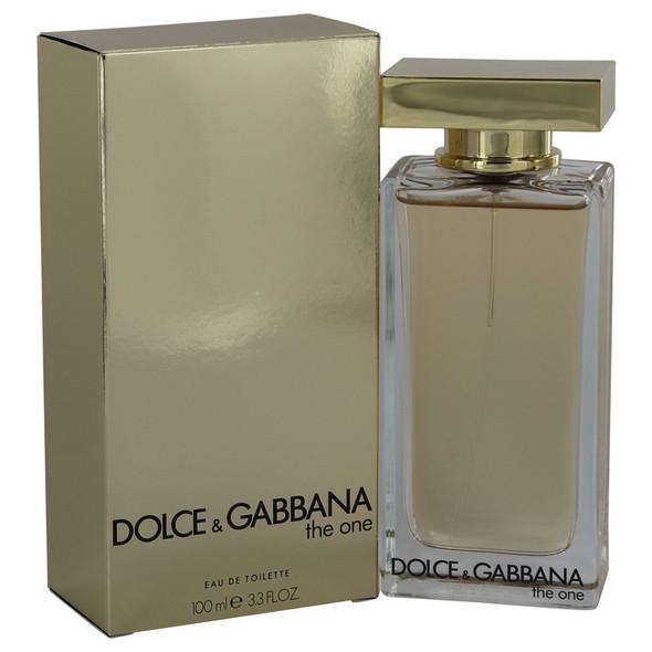 The One by Dolce & Gabbana Eau De Toilette Spray (New Packaging) for Women