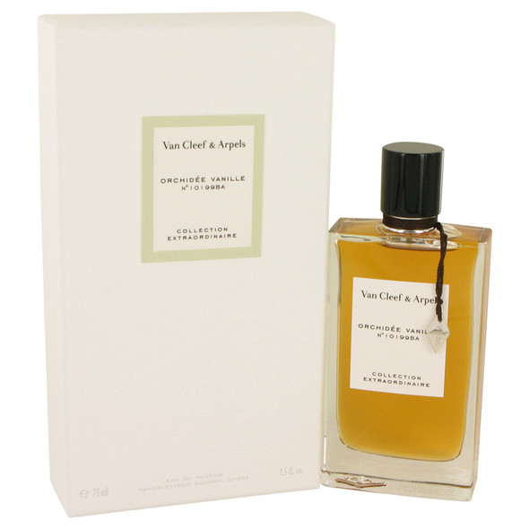 Orchidee Vanille by Van Cleef & Arpels Eau De Parfum Spray 2.5 oz for Women