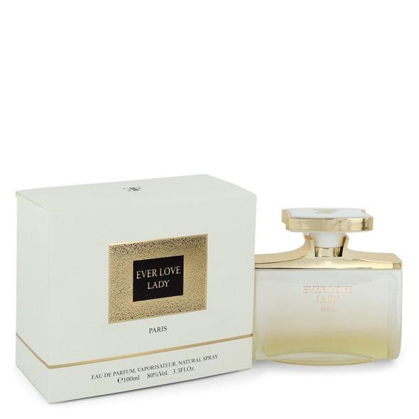 Ever Love Lady by Elysee Fashion Eau De Parfum Spray 3.3 oz for Women