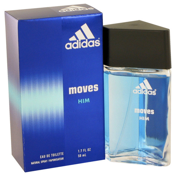Adidas Moves by Adidas Eau De Toilette Spray for Men