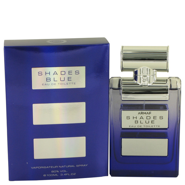 Armaf Shades Blue by Armaf Eau De Toilette Spray 3.4 oz for Men