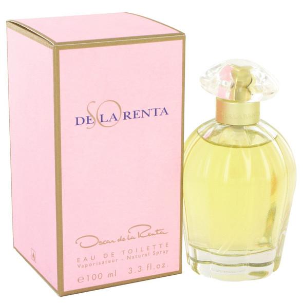 SO DE LA RENTA by Oscar de la Renta Eau De Toilette Spray 3.4 oz for Women