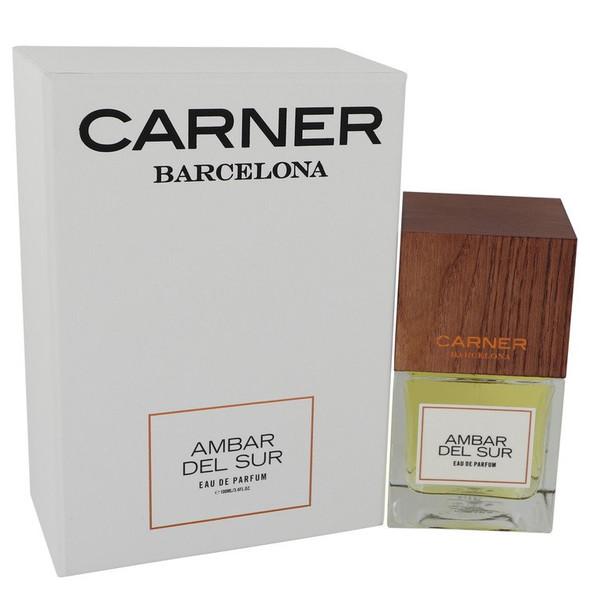 Ambar Del Sur by Carner Barcelona Eau De Parfum Spray (Unisex) 3.4 oz for Women