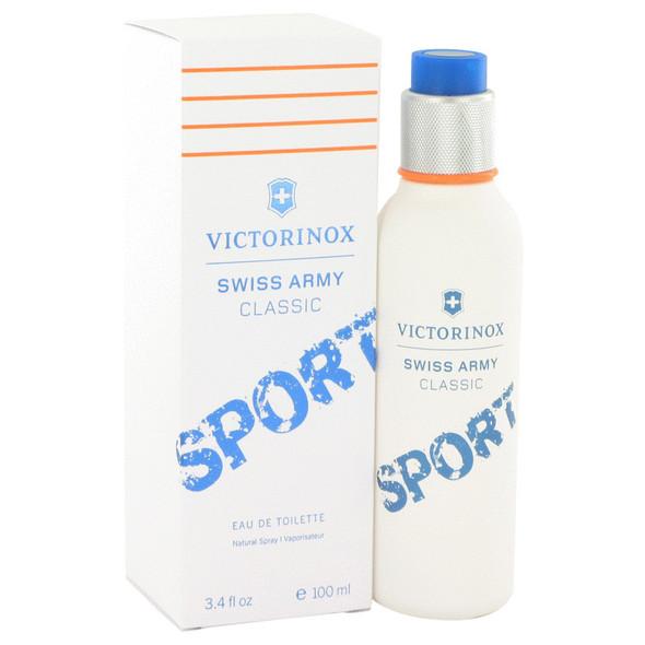 Swiss Army Classic Sport by Victorinox Eau De Toilette Spray 3.4 oz for Men