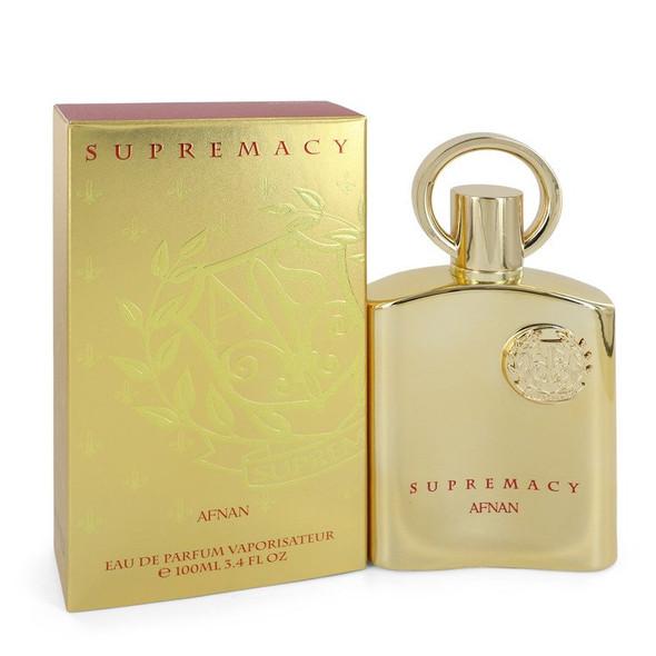 Supremacy Gold by Afnan Eau De Parfum Spray (Unisex) 3.4 oz for Men