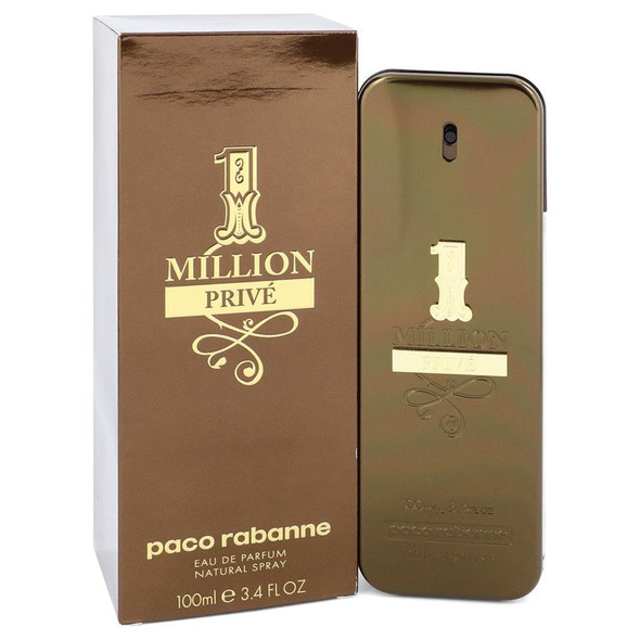 1 Million Prive by Paco Rabanne Eau De Parfum Spray for Men