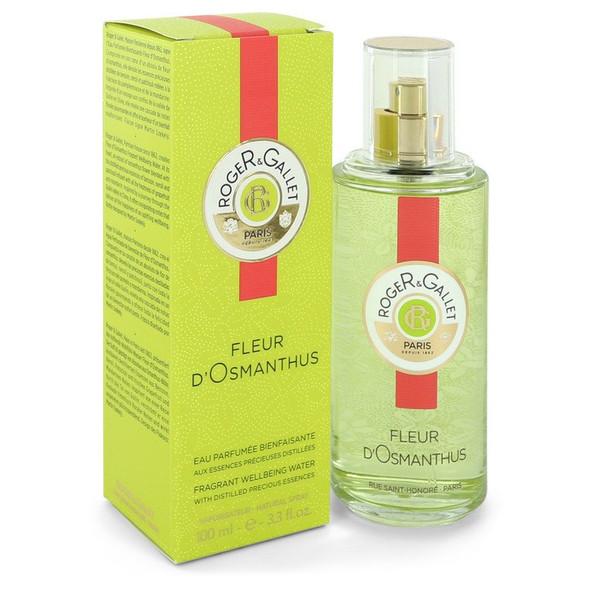 Roger & Gallet Fleur D'Osmanthus by Roger & Gallet Fragrant Wellbeing Water Spray 3.3 oz for Women
