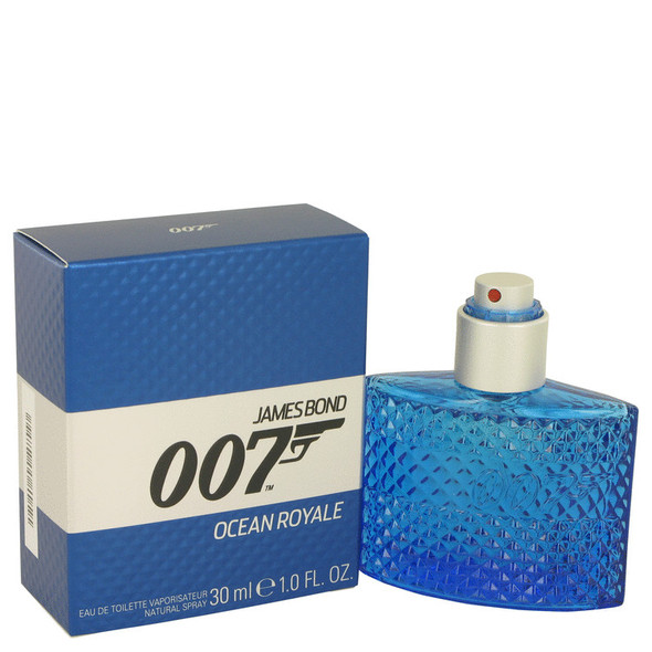 007 Ocean Royale by James Bond Eau De Toilette Spray 1 oz for Men