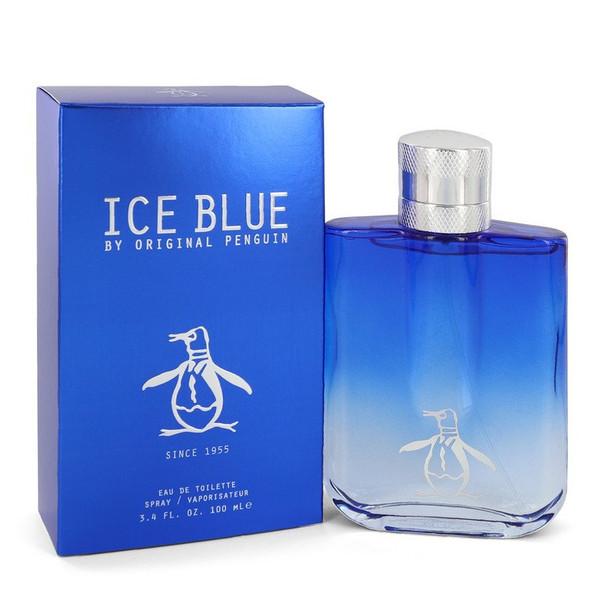 Original Penguin Ice Blue by Original Penguin Eau De Toilette Spray 3.4 oz for Men