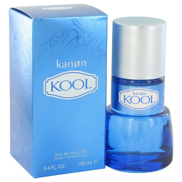 Kanon Kool by Kanon Eau De Toilette Spray 3.4 oz for Men