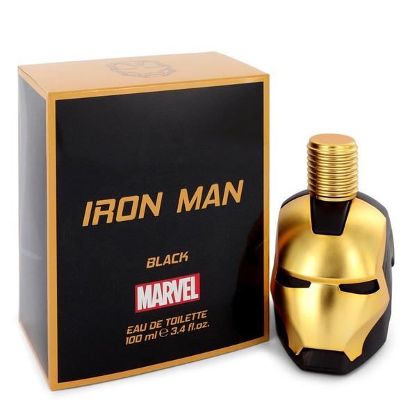 Iron Man Black by Marvel Eau De Toilette Spray 3.4 oz for Men