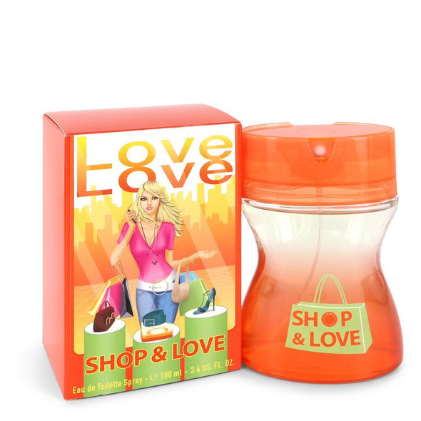 Shop & Love by Cofinluxe Eau De Toilette Spray 3.4 oz for Women