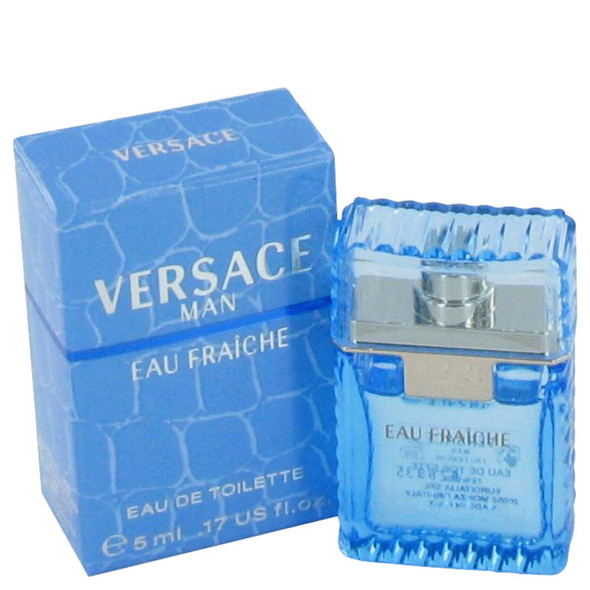 Versace Man by Versace Mini Eau Fraiche .17 oz for Men