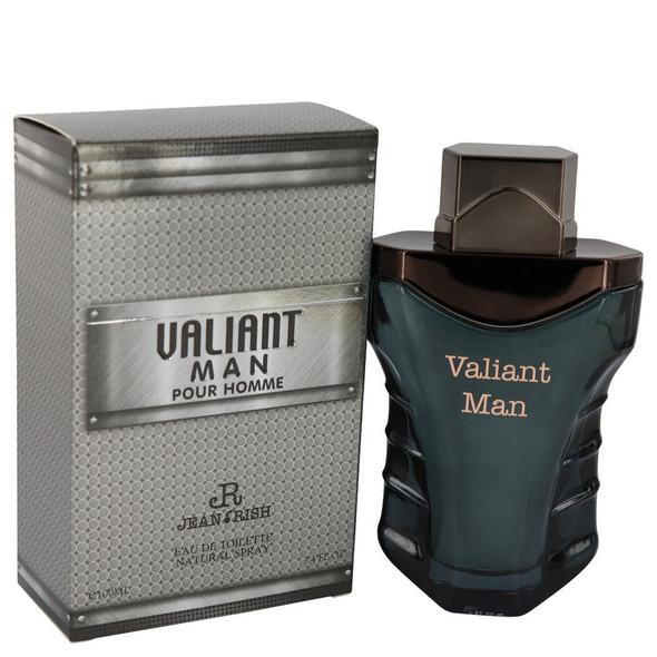 Valiant Man by Jean Rish Eau De Toilette Spray 3.4 oz for Men