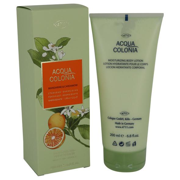 4711 Acqua Colonia Mandarine & Cardamom by Maurer & Wirtz Body Lotion Body Lotion 6.8 oz for Women