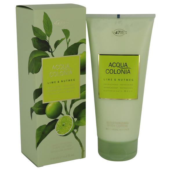 4711 Acqua Colonia Lime & Nutmeg by Maurer & Wirtz Body Lotion 6.8 oz for Women