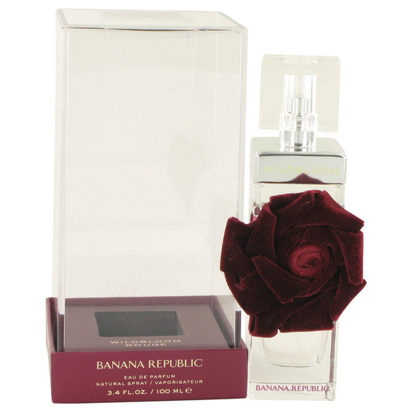Banana Republic Wildbloom Rouge by Banana Republic Eau De Parfum Spray 3.4 oz for Women