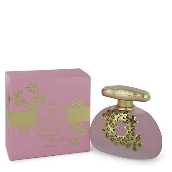 Tous Floral Touch So Fresh by Tous Eau De Toilette Spray 3.4 oz for Women