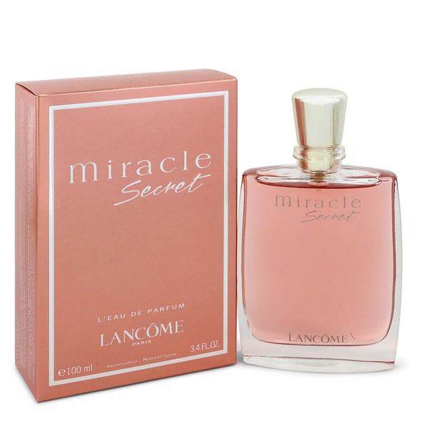 Miracle Secret by Lancome Eau De Parfum Spray 3.4 oz for Women