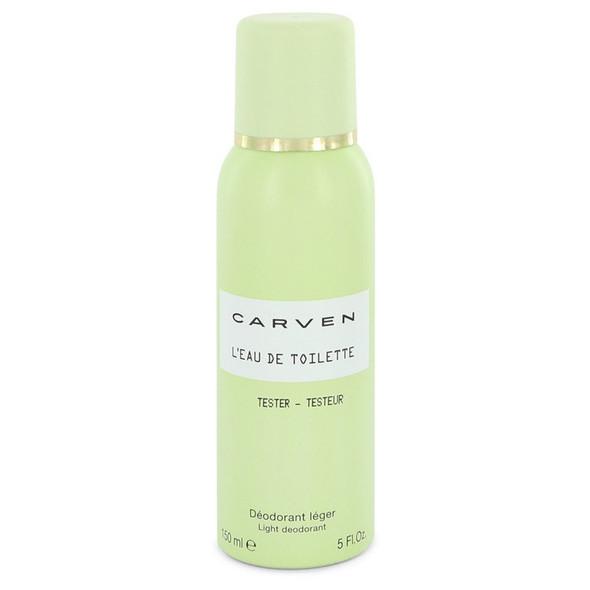 Carven L'eau De Toilette by Carven Deodorant Spray (Tester) 5 oz for Women