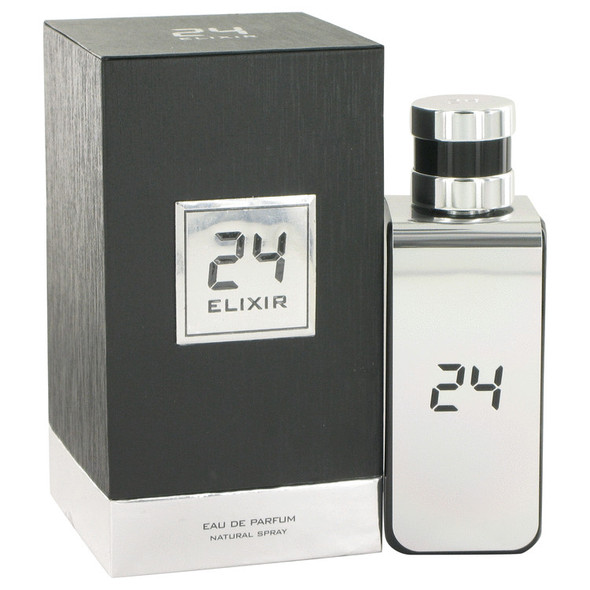24 Platinum Elixir by ScentStory Eau De Parfum Spray 3.4 oz for Men