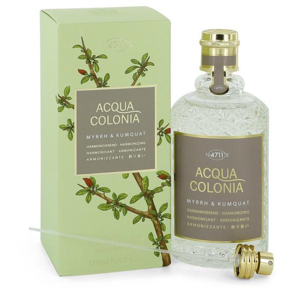 4711 Acqua Colonia Myrrh & Kumquat by Maurer & Wirtz Eau De Cologne Spray 5.7 oz for Women