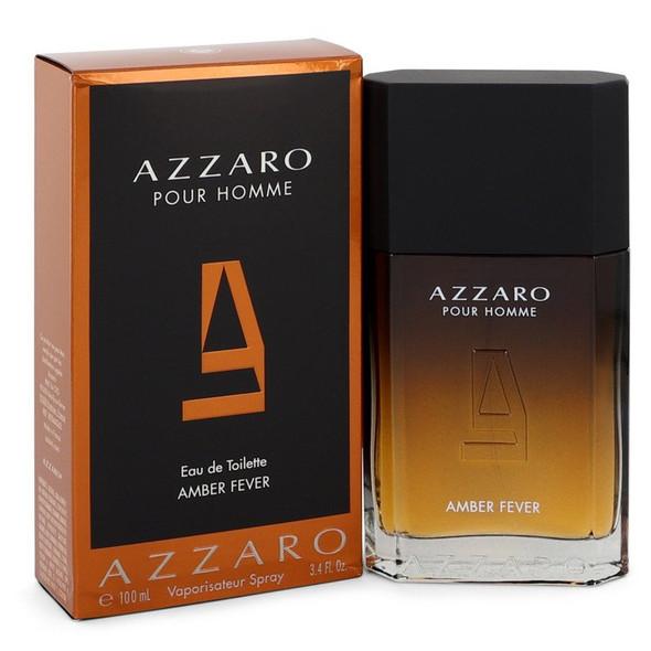 Azzaro Amber Fever by Azzaro Eau De Toilette Spray 3.4 oz for Men