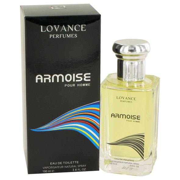 Armoise by Lovance Eau De Toilette Spray 3.4 oz for Men