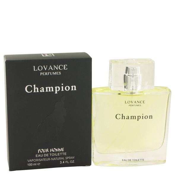 Champion by Lovance Eau De Toilette Spray 3.4 oz for Men