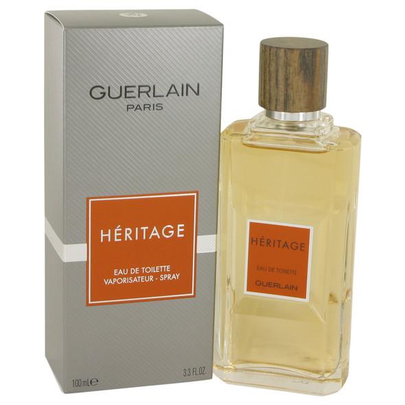 HERITAGE by Guerlain Eau De Toilette Spray 3.4 oz for Men