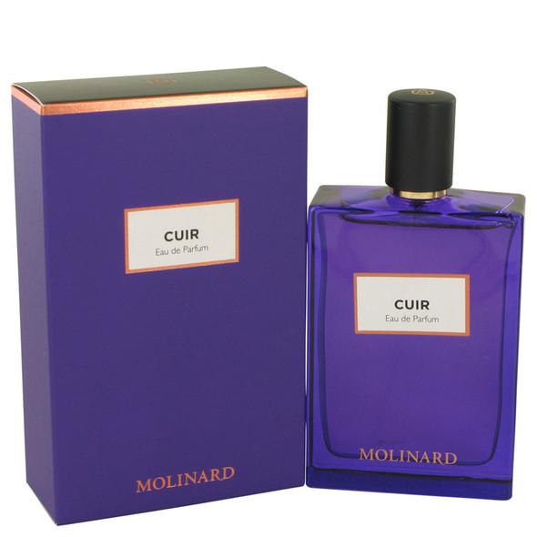 Molinard Cuir by Molinard Eau De Parfum Spray (Unisex) 2.5 oz for Women