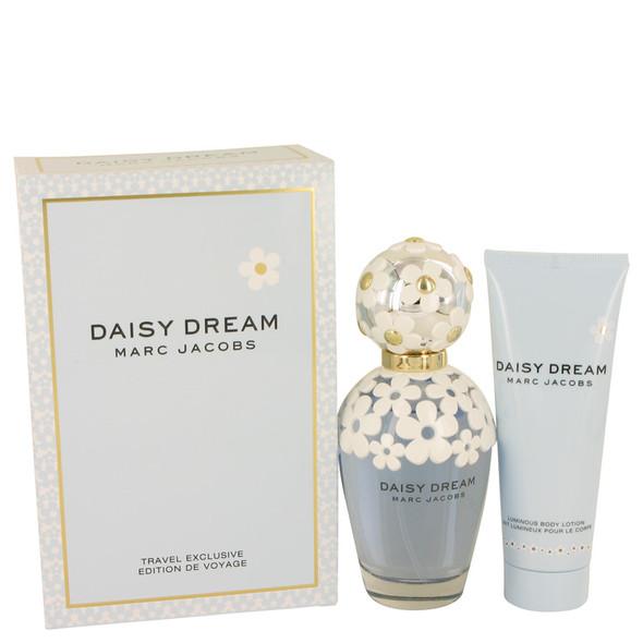 Daisy Dream by Marc Jacobs Gift Set -- 3.4 oz Eau De Toilette Spray + 2.5 oz Body Lotion for Women