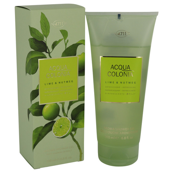 4711 Acqua Colonia Lime & Nutmeg by Maurer & Wirtz Shower Gel 6.8 oz for Women