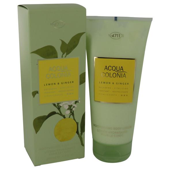 4711 ACQUA COLONIA Lemon & Ginger by Maurer & Wirtz Body Lotion 6.8 oz for Women