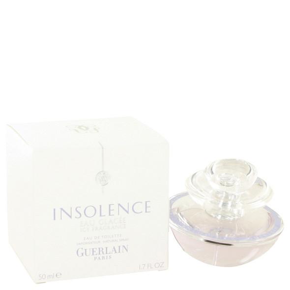 Insolence Eau Glacee (Icy Fragrance) by Guerlain Eau De Toilette Spray 1.7 oz for Women