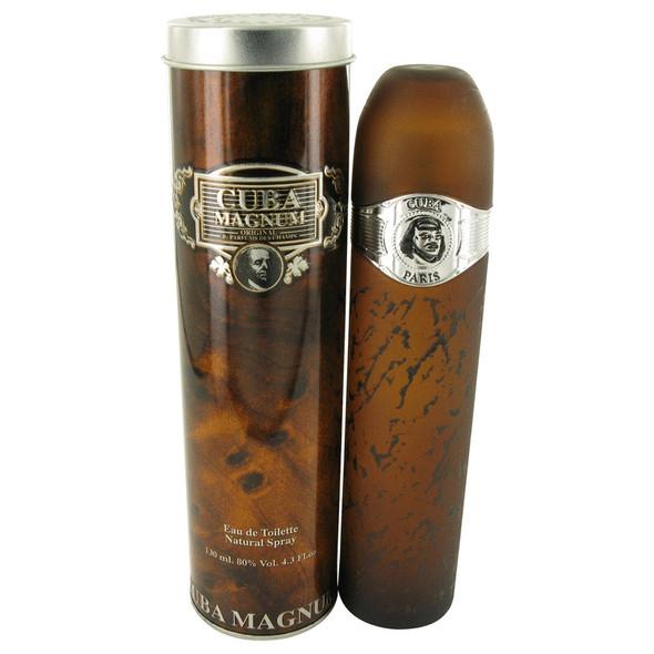 Cuba Magnum Black by Fragluxe Eau De Toilette Spray 4.3 oz for Men
