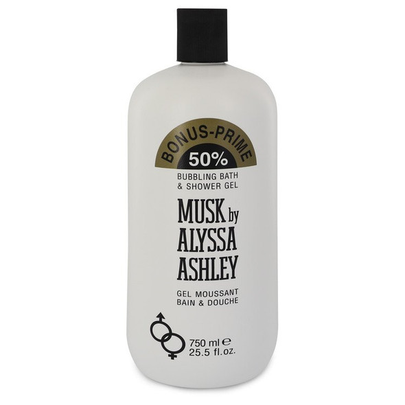 Alyssa Ashley Musk by Houbigant Shower Gel 25.5 oz for Women