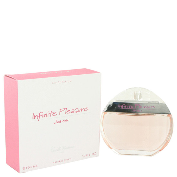 Infinite Pleasure Just Girl by Estelle Vendome Eau De Parfum Spray 3.4 oz for Women