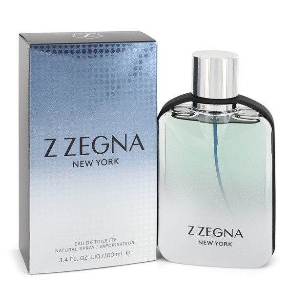 Z Zegna New York by Ermenegildo Zegna Eau De Toilette Spray 3.4 oz for Men