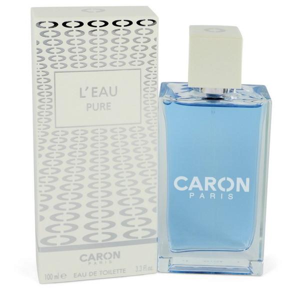 Caron L'eau Pure by Caron Eau De Toilette Spray (Unisex) 3.3 oz for Women