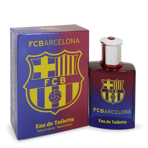 FC Barcelona by Air Val International Eau De Toilette Spray for Men