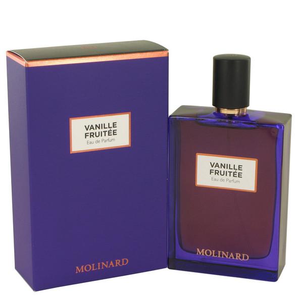 Molinard Vanille Fruitee by Molinard Eau De Parfum Spray (Unisex) 2.5 oz for Women